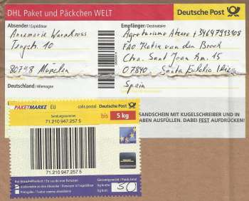 Germany to ibiza spain dhl deutsche post packet 2013 - Mobel versenden dhl ...